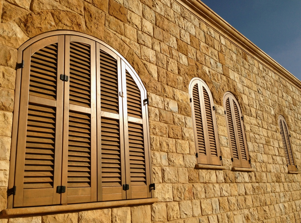 Wooden windows and shutters beirut lebanon manufacturers persienne Fenetres bois beyrouth liban abat jour elcir wahab Woodlux bois wood wooden factory double glazing